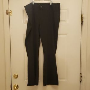 Dark grey Maurices ponte pant worn once